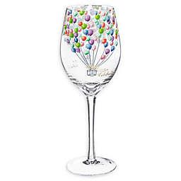 Evergreen Celebrate Wine Glass with Box