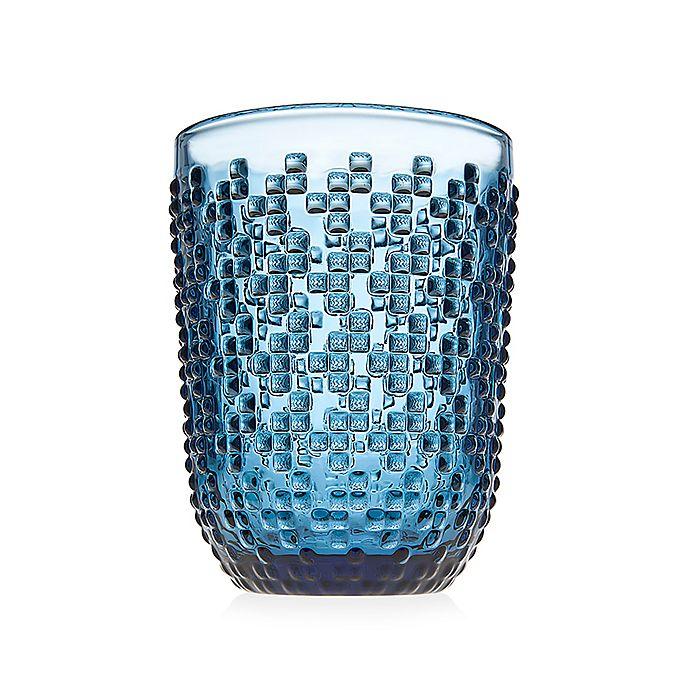 Alternate image 1 for Godinger® Alba Double Old Fashioned Glasses in Blue (Set of 4)