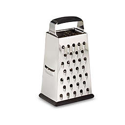 SALT™ 6-Inch Stainless Steel 4-Sided Grater