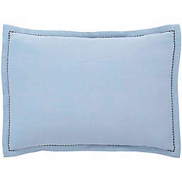 ED Ellen DeGeneres™ Soledad Crinkle Spa Blue Throw Pillow