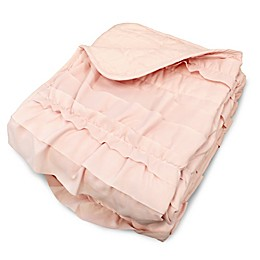 Lush Décor Belle Throw Blanket in Blush Pink