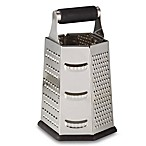 SALT™ 9-Inch Stainless Steel 6-Sided Roll Handle Grater