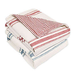 Lush Decor Farmhouse Reversible Throw Blanket