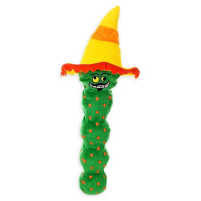 Alternate image 1 for Mighty® Tequila Worm Dog Toy in Green