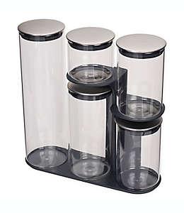 Joseph Joseph® Podium Set de contenedores para alimentos y base