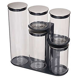 Joseph Joseph® Podium 5-Piece Glass Food Storage Set