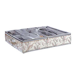 Laura Ashley® 12-Pair Under-The-Bed Shoe Box in Palm Leaf