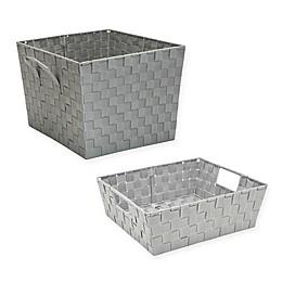 Simplify Woven Storage Bin