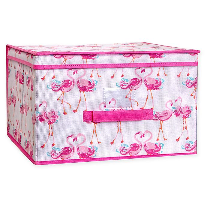 Alternate image 1 for Laura Ashley® Kids Collapsible Storage Box