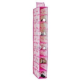 Laura Ashley® Kids 10-Shelf Hanging Shoe Organizer