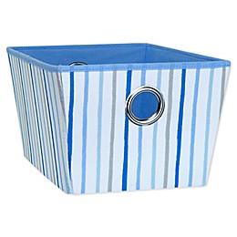 Laura Ashley® Kids Large Grommet Storage Tote in Blue