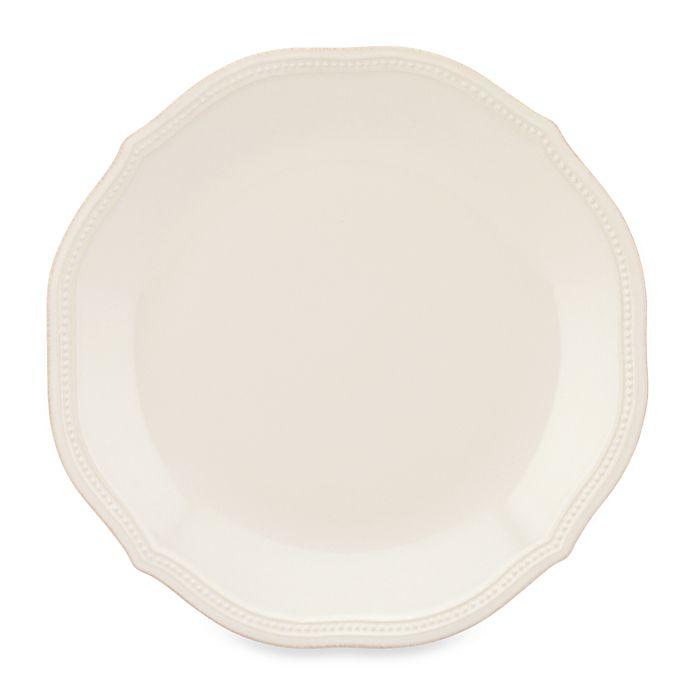 Alternate image 1 for Lenox® French Perle Bead Dinner Plate in White