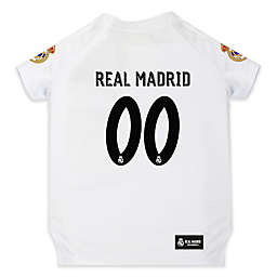 MLS Real Madrid Pet Jersey in Blue/White