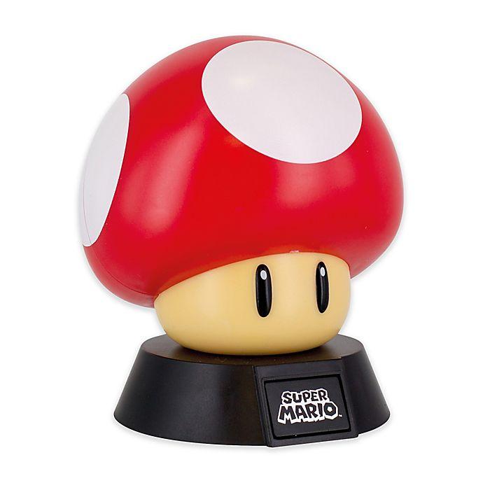 Alternate image 1 for Super Mario Novelty Light in Red