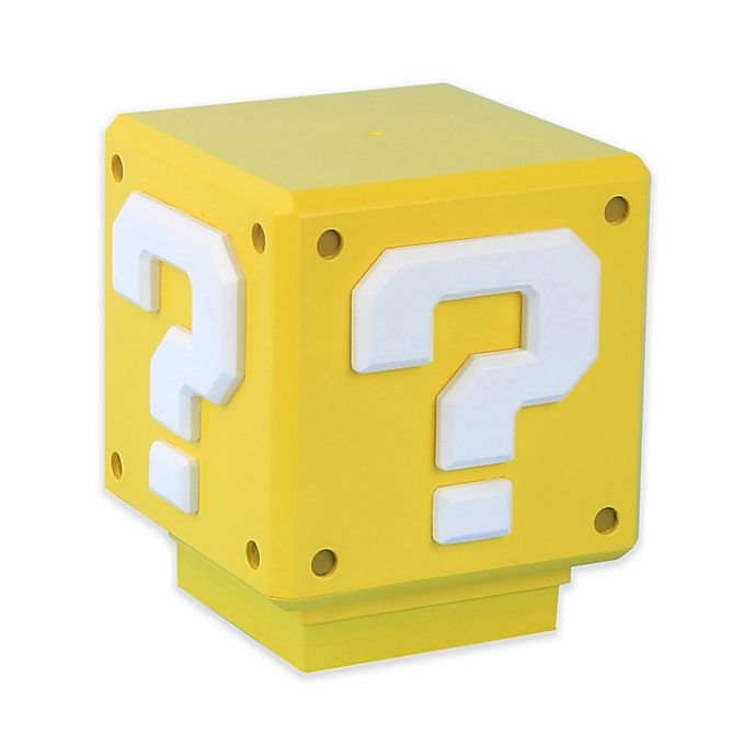 Alternate image 1 for Super Mario Novelty Light in Yellow