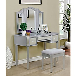 Furniture of America Joanie 3-Piece Vanity Set