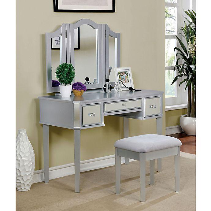 Furniture Of America Joanie 3 Piece Vanity Set Bed Bath Beyond