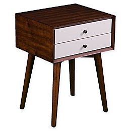 Southern Enterprises© Apline Bedside Table with Drawers
