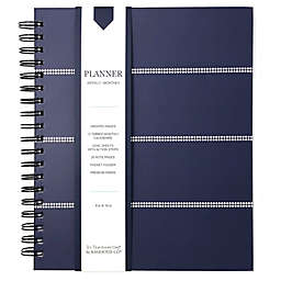 <div>Kahootie Co® Striped Weekly/Monthly Planner in Navy</div>