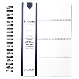 Kahootie Co® Striped Weekly/Monthly Planner in Teal