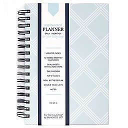 Diamond Daily/Monthly Planner in Teal