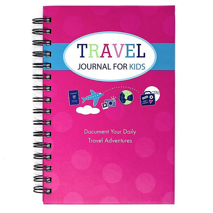 Alternate image 1 for Travel Journal for Kids in Pink