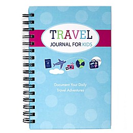 Travel Journal for Kids in Teal/Pink