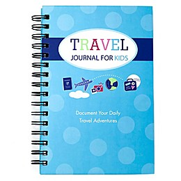 Travel Journal for Kids in Teal/Blue