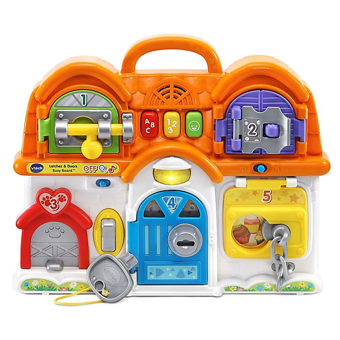 Alternate image 1 for Vtech Vtech® Latches & Doors Busy Board™
