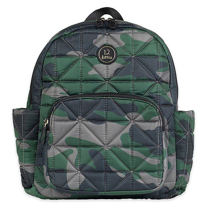 Alternate image 1 for TWELVElittle Little Companion Backpack in Camo