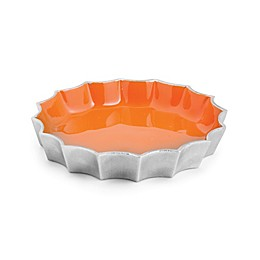 Marigold Artisans Fluted 7-Inch Dish in Persimmon
