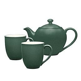 Noritake® Colorwave 3-Piece Tea-for-2 Set in Spruce