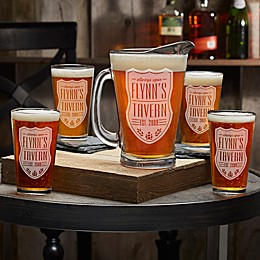Beer Label Glass Collection