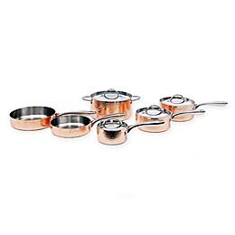 BergHOFF® Vintage Hammered Copper 10-Piece Cookware Set
