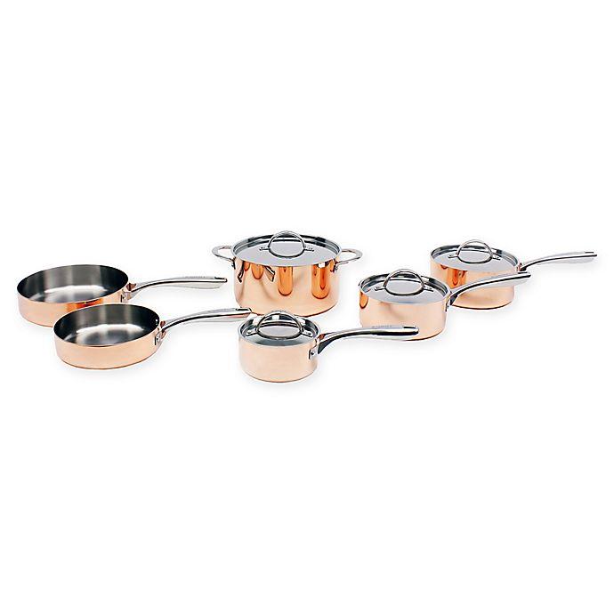 Alternate image 1 for BergHOFF® Vintage Polished Copper 10-Piece Cookware Set