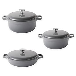 BergHOFF® Gem Enameled Cast Iron 6-Piece Cookware Set in Grey