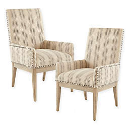 Madison Park™ Upholstered Rika Dining Chairs in Natural (Set of 2)
