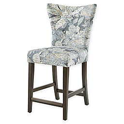 """Madison Park™ Connie 25"""" Bar Stool in Blue"""