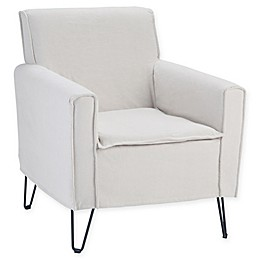 Simpli Home™ Upholstered Warren Chair in Natural