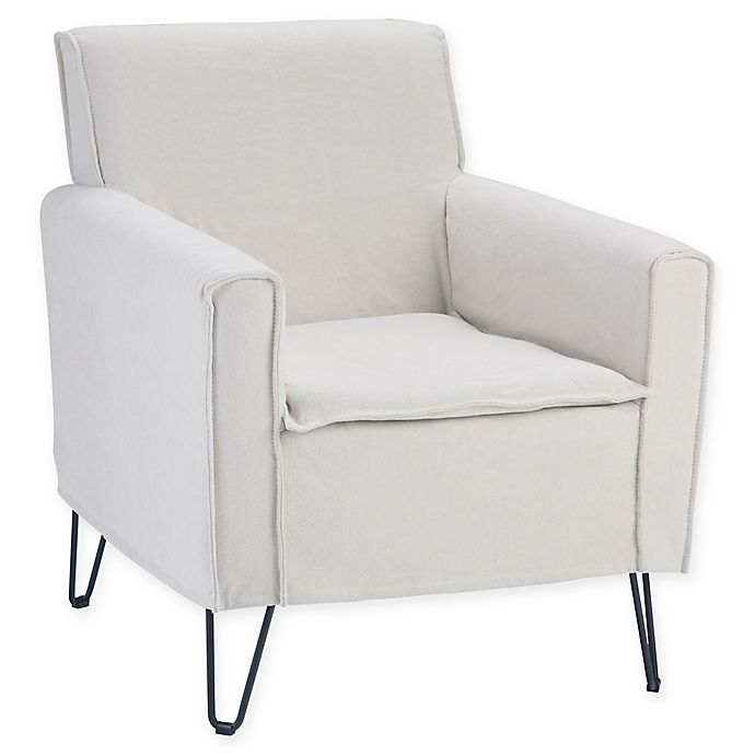Alternate image 1 for Simpli Home™ Upholstered Warren Chair in Natural