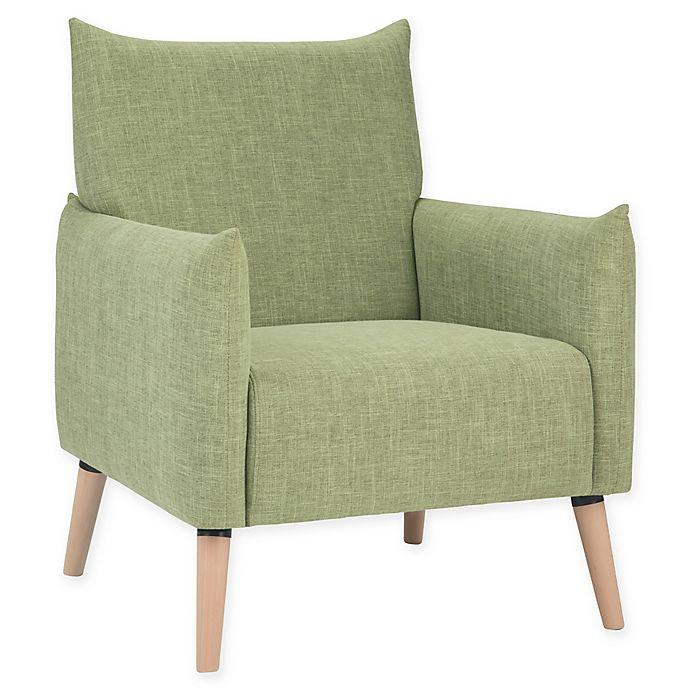 Alternate image 1 for Simpli Home™ Keenan Arm Chair in Acid Green