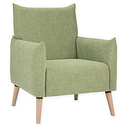 Simpli Home™ Keenan Arm Chair in Acid Green