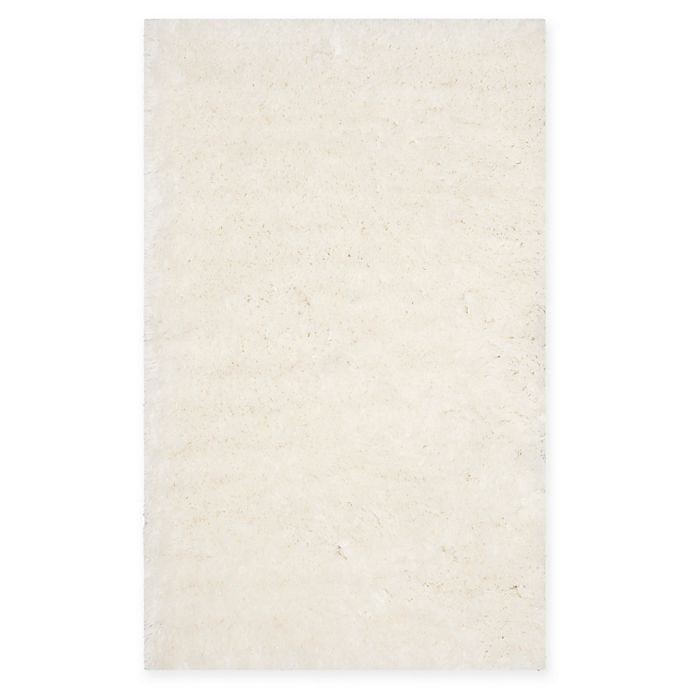 Alternate image 1 for Safavieh Bram Shag Area Rug in Ivory