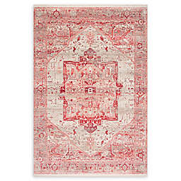 nuLOOM Tribal Medallion 4' x 6' Area Rug in Red