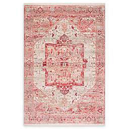 nuLOOM Tribal Medallion 9' x 12' Area Rug in Red