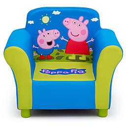 Delta Children Peppa Pig Upholstered Chair in Green