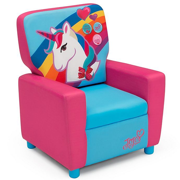 Excellent Delta Children Nickelodeon Jojo Siwa High Back Upholstered Pdpeps Interior Chair Design Pdpepsorg