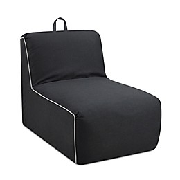 Kangaroo Trading Company Tween Foam Lounger Chair in Carbon Grey
