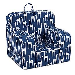 Kangaroo Trading Company Giraffe Print Kid's Grab-n-Go Foam Chair
