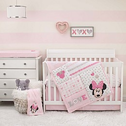 Disney® Love to Love Minnie Mouse Crib Set Collection